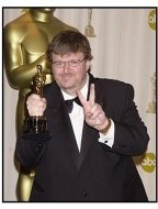 Academy Awards 2003 Backstage: Michael Moore