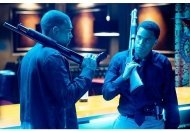 Takers Movie Stills: Chris Brown (left) and Michael Ealy