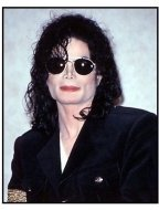 Michael Jackson at Hilton Hotel press conference 1998