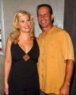 Kristy Swanson and Lloyd Eisler