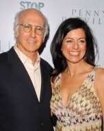 Larry David and Laurie Lennard