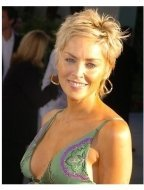 "Sharon Stone at the ""Catwoman"" premiere"