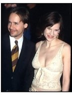 Hilary Swank and Chad Lowe at The Gift premiere