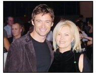 "Hugh Jackman and wife Deborra-Lee at the ""Van Helsing"" premiere"