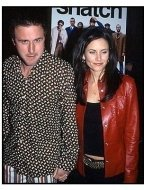 Courteney Cox Arquette and David Arquette at the Snatch premiere