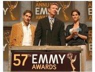 57th Annual Primetime Emmy Award Nominations: Michael Imperioli, Dick Askin and Jami Gertz