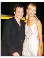 """Quentin Tarantino and Uma Thurman at the """"Kill Bill Vol. 1"""" premiere"""