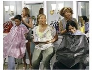 Beauty Shop Movie Stills: Queen Latifah, Golden Brooks and Alfre Woodard