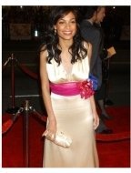 Rosario Dawson at the Alexander Premiere