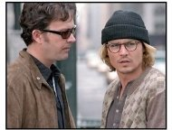 """Secret Window"" Move Stills: Johnny Depp and Timothy Hutton"