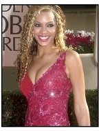 Destiny's Child member Beyonce Knowles at the 2001 Golden Globe Awards