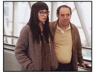 """American Splendor"" Movie Still: Paul Giamatti and Hope Davis"