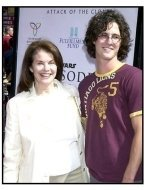 Sherry Lansing and son Cedrick at the Star Wars Episode II premiere