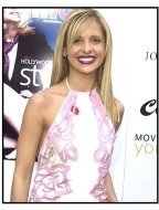 Sarah Michelle Gellar at the 2002 Movieline Young Hollywood Awards