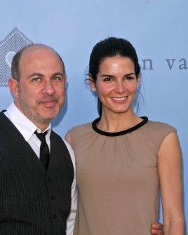 John Varvatos and Angie Harmon