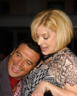 Carlos Mencia and wife Amy