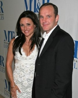 Julia Louis-Dreyfus and Clark Gregg