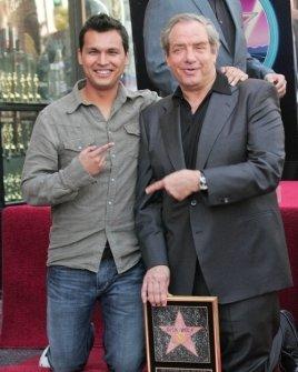 Adam Beach and Dick Wolf