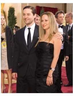 Academy Award presenter Tobey Maguire and Jennifer Meyer arrive at the 79th Annual Academy Awards at the Kodak Theatre in Hollywood,