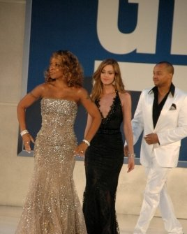 Mary J Blige with Denise Richards and Donald Faison