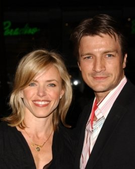 Nathan Fillion and friend