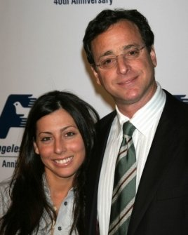 Bob Saget and friend