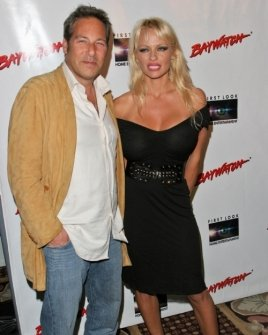 Pamela Anderson and friend