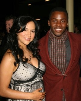 Sophia Luke and Derek Luke