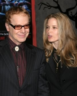 Danny Elfman and Bridget Fonda