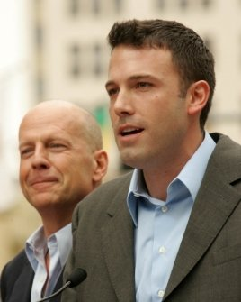 Bruce Willis and Ben Affleck