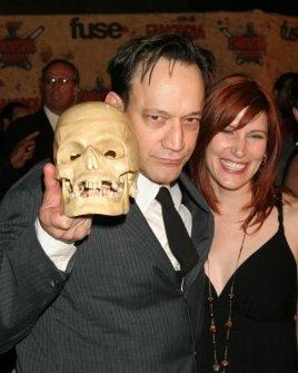 Ted Raimi and Susan Riley