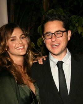 Kerri Russell and J.J. Abrams