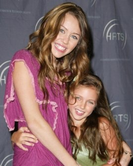 Miley Cyrus and Ryan Newman