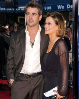 Colin Farrell and his mother