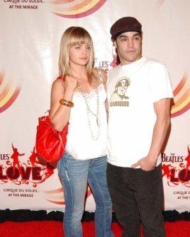 Mena Suvari and Mike Carrasco