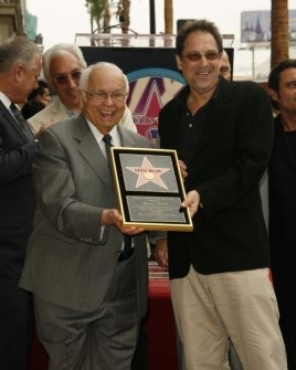 Johnny Grant and David Milch