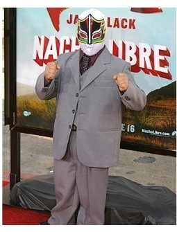 Nacho Libre Premiere Photos:  Mascarita Sagrada