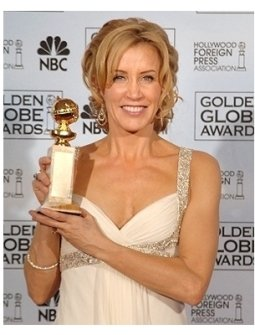 63rd Golden Globes Backstage Photos: Felicity Huffman