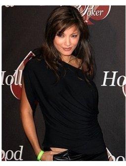 HollywoodPoker.com 1st Anniversary Party Photos:  Kelly Hu
