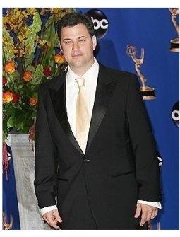 Jimmy Kimmel backstage at the 2004 Emmy Awards
