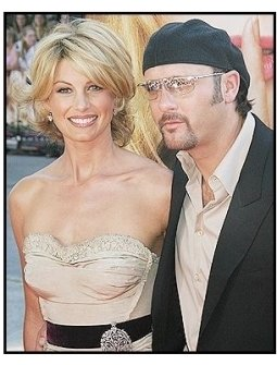 Faith Hill and Tim McGraw at <I>The Stepford Wives</I> premiere