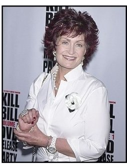 "Sharon Osbourne at the ""Kill Bill Vol. 1"" DVD Release Party"