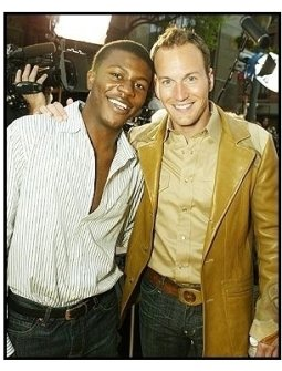 """Edwin Hodges and Patrick Wilson at """"The Alamo"""" Premiere"""