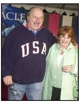 "Dennis Franz and wife Joanie at the ""Miracle"" premiere"