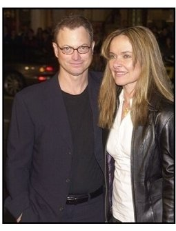 "Gary Sinise and wife Moiraat ""The Big Bounce"" premiere"
