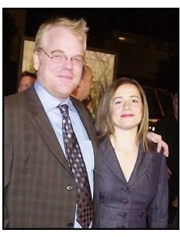 """Phiilip Seymour Hoffman and date Mimi at the """"Along Came Polly"""" Premiere"""