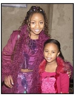 """Aree and Dee Dee Davis at """"The Haunted Mansion"""" Premiere"""