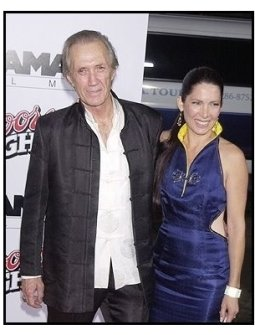 "David Carradine at the ""Kill Bill Vol. 1"" premiere"
