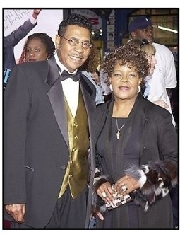"The Reverend Shirley Caesar and her husband  at ""The Fighting Temptations"" premiere"