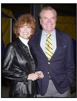"Robert Wagner with wife Jill St. John at the Los Angleles premiere of Cirque Du Soleil's latest production ""Varekai"""